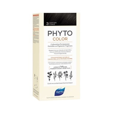 PHYTO Phyto Phytocolor 3 Dark Brown Kahve